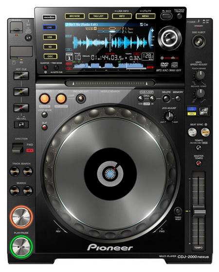 Pioneer CDJ-2000nexus Flagship DJ Player with WiFi Connectivity 1