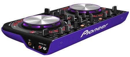 Pioneer DDJ-WeGO Affordable, Compact DJ Controller violet