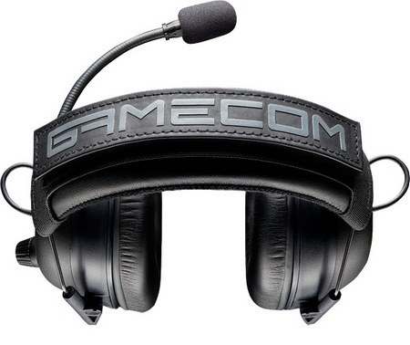 Plantronics GameCom Commander Tournament Gaming Headset top