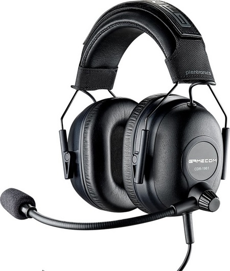 Plantronics GameCom Commander Tournament Gaming Headset