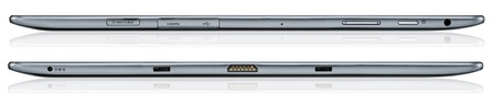 Samsung ATIV Tab Windows RT Tablet side