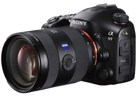 Sony Alpha A99 Full-frame DSLR Camera angle