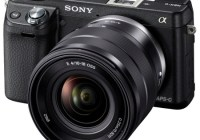 Sony Alpha NEX-6 Mirrorless Camera angle