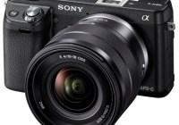 Sony Alpha NEX-6 Mirrorless Camera angle