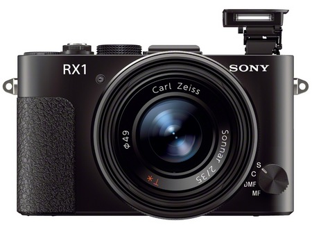 Sony Cyber-shot DSC-RX1 Compact Full-Frame Digital Camera front