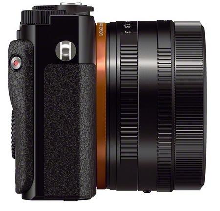Sony Cyber-shot DSC-RX1 Compact Full-Frame Digital Camera side
