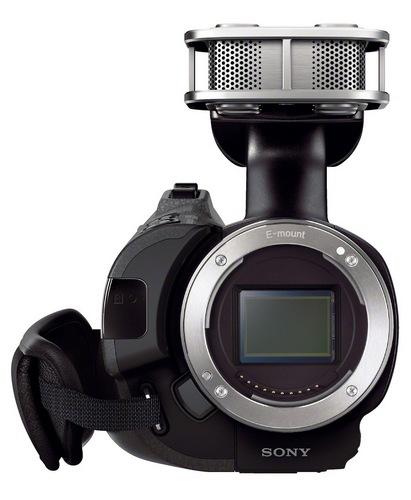 Sony Handycam NEX-VG30 Interchangeable Lens Camcorder front
