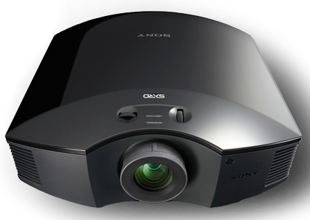 Sony VPL-HW50ES 3D Front Projector front