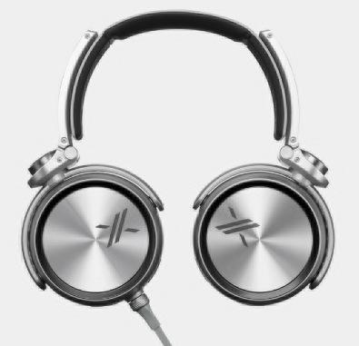 Sony X Headphones with Simon Cowell's Backing black 1