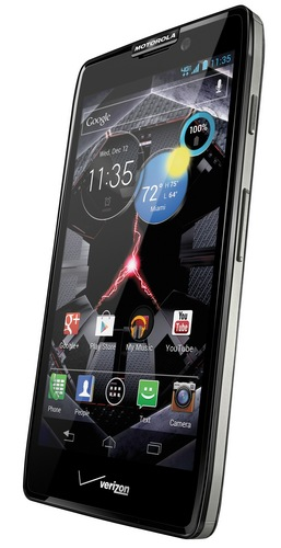 Verizon Motorola DROID RAZR HD LTE Smartphone black