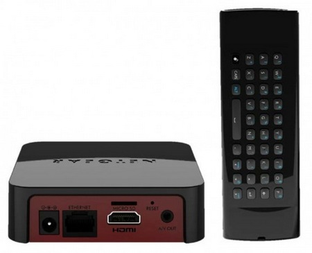 netgear NeoTV MAX NTV300SL Streaming Player back
