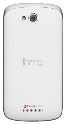 AT&T HTC One VX Mid-range Smartphone with LTE back