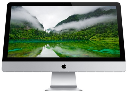 Apple iMac 2012 front 27-inch