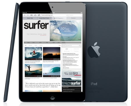 Apple iPad mini 7.9-inch Touchscreen, dual-core A5 lte 1080p video black slate