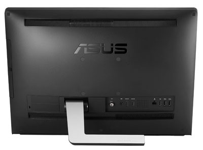 Asus ET2220 series All-in-one PC with 10-point Multitouch Display back