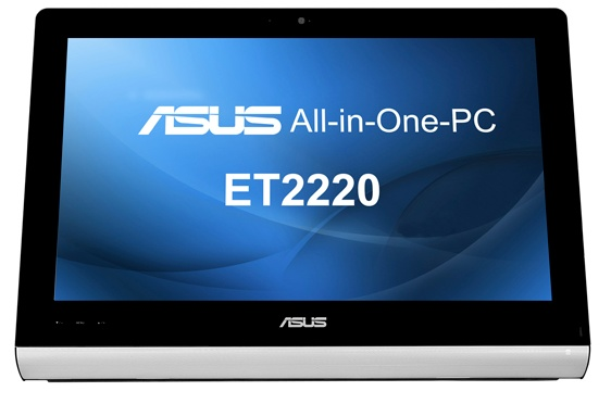 Asus ET2220 series All-in-one PC with 10-point Multitouch Display