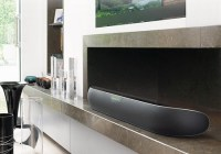 Bowers & Wilkins Panorama 2 Soundbar Speaker in use