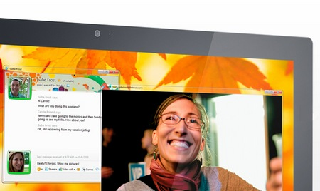 Dell S2340T Multitouch Display webcam