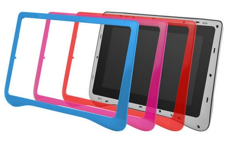 Ematic FunTab Pro Android 4.0 Tablet for Children colors