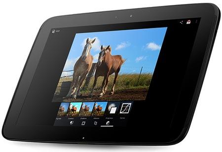 Google Samsung Nexus 10 Tablet gets 2560x1600 300ppi Display angle