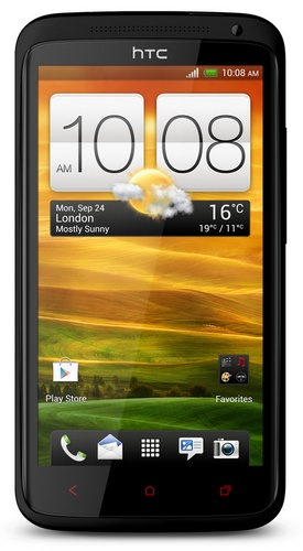 HTC One X+ Android 4.1 smartphone front