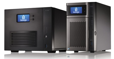 Iomega StorCenter px2-300d and ix4-300d Network Storage Systems