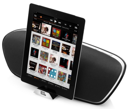 JBL OnBeat Venue iPad Loudspeaker Dock with Bluetooth ipad docked