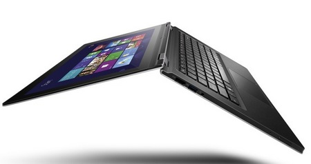 Lenovo IdeaPad Yoga 13 Convertible Hybrid Notebook Tablet Windows 8 flip