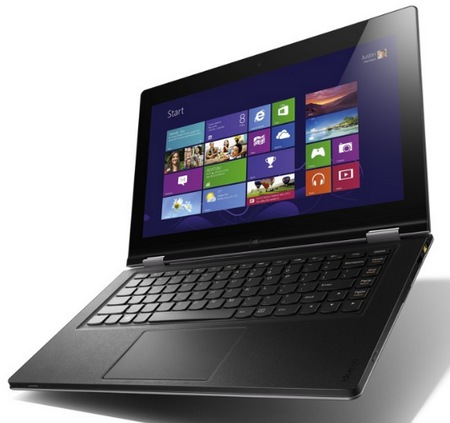 Lenovo IdeaPad Yoga 13 Convertible Hybrid Notebook Tablet Windows 8