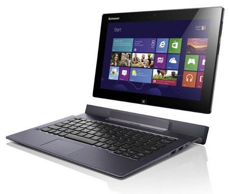 Lenovo IdeaTab Lynx Windows 8 Tablet with Optional Keyboard Dock remove