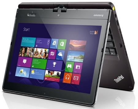 Lenovo ThinkPad Twist Windows 8 Convertible Ultrabook for Business 1