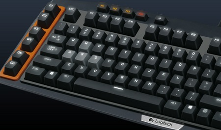 Logitech G710+ Mechanical Gaming Keyboard wasd
