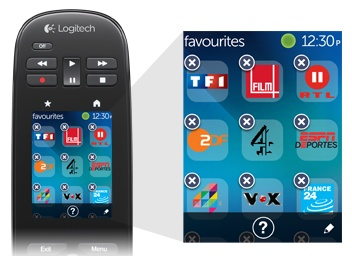 Logitech Harmony Touch Universal Remote with Touchscreen channel icon