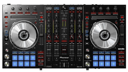 Pioneer DDJ-SX 4-channel Performance DJ Controller for Serato DJ Software front