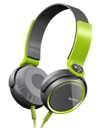 Sony MDR-XB400 Extra Bass headphones