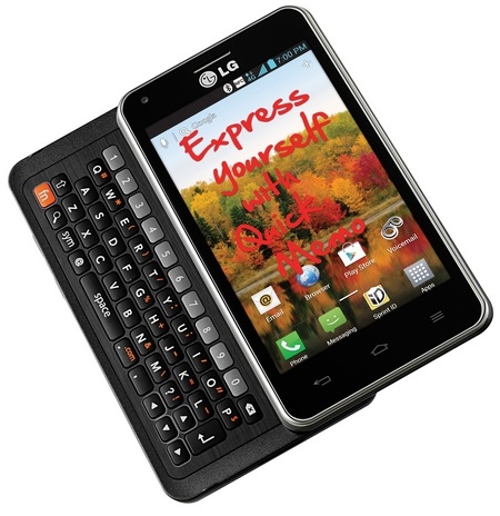 Sprint LG Mach Slim 4G LTE QWERTY Android Phone