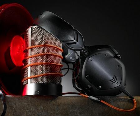 V-Moda Crossfade M-100 Metal Customizable Headphones matte black