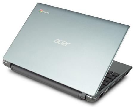 Acer C7 Chromebook lid 2