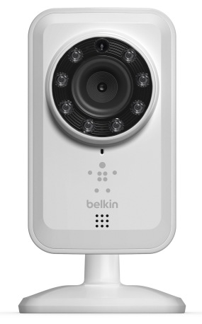 Belkin NetCam WiFi Camera with Night Vision front