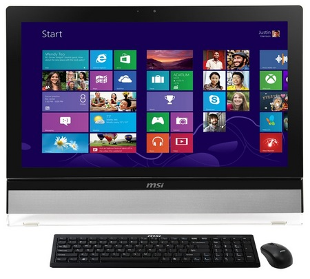 MSI AE2712 and AE2712G Windows 8 All-in-one PC