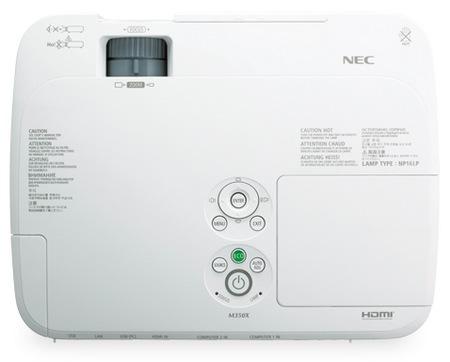 NEC M271X, M311X and M311W Portable Projectors top