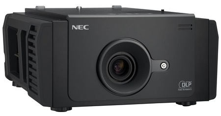 NEC NC900C Digital Cinema Projector with 2K Resolution angle