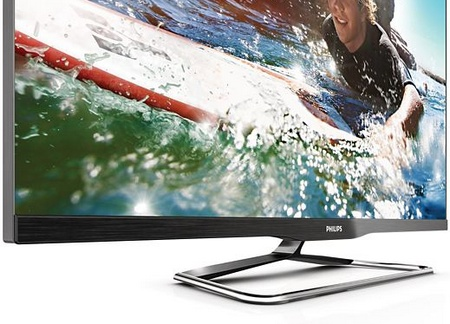 Philips PFL6900 Series Frameless Smart TVs stand