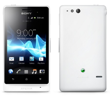 Sony Xperia advance Rugged Smartphone white