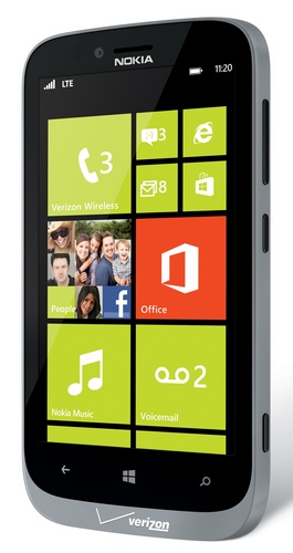 Verizon Nokia Lumia 822 Windows Phone grey
