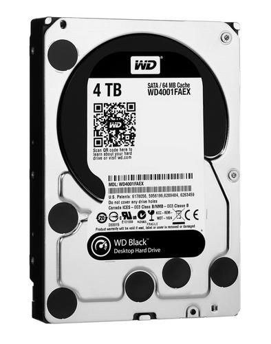 Western Digital Black 4TB 3.5-inch Hard Drive