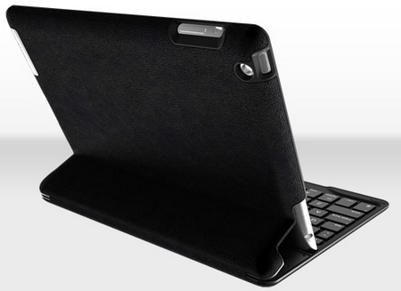 ZAGG ZAGGkeys PROfolio+ Keyboard Case for iPad 2 3 4 back 1