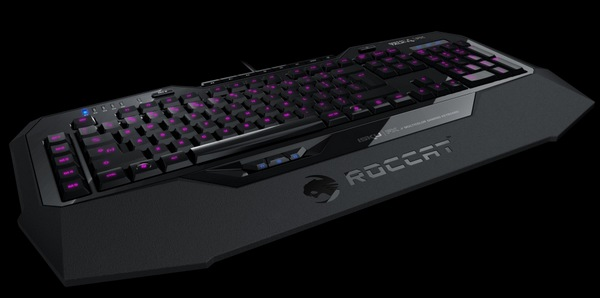 ROCCAT Isku FX Gaming Keyboard angle