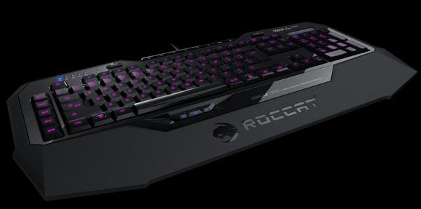 ROCCAT Isku FX Gaming Keyboard angle