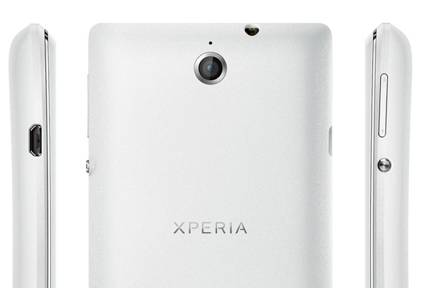 Sony Xperia E Affordable Smartphone back